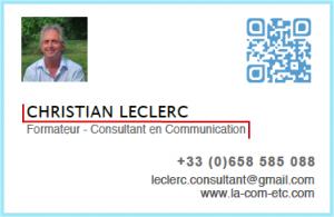Christian Leclerc Formateur Consultant